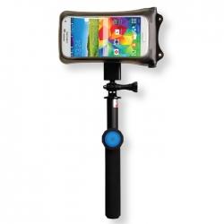 Combo Bastón Selfie + Funda acuática para smartphone